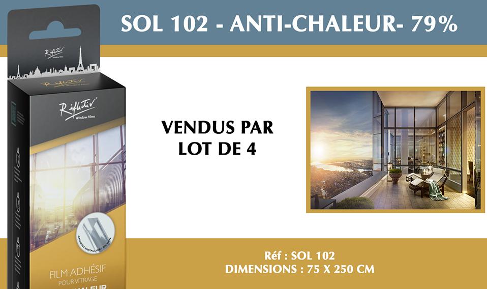 SOL 102 - Film anti-chaleur - 79