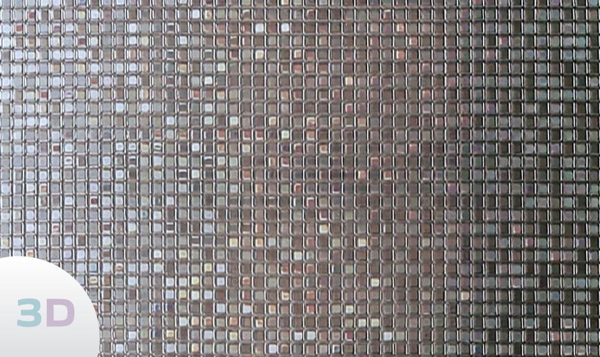 STC 340 - Effet Mosaique de Carrés 3D